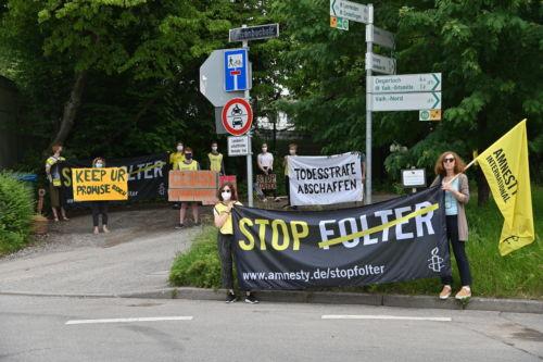Demo Patch Barracks Stuttgart 26.06.2021